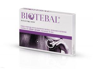 Biotebal - tabletki na włosy